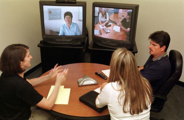 entrevista de trabajo por teléfono o video
